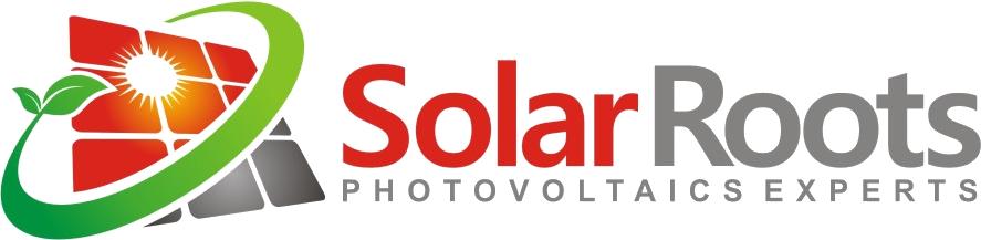 Solar Roots Logo, Paneles Solares, Energía Renovable