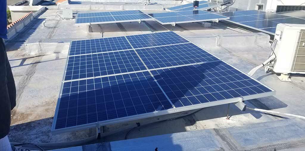 Compra, venta, paneles solares, placa, energía, puerto rico