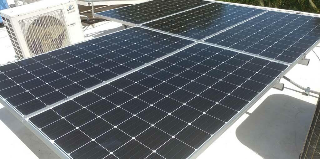 placas solares, puerto rico, solar roots, inclinación, producción, energía solar