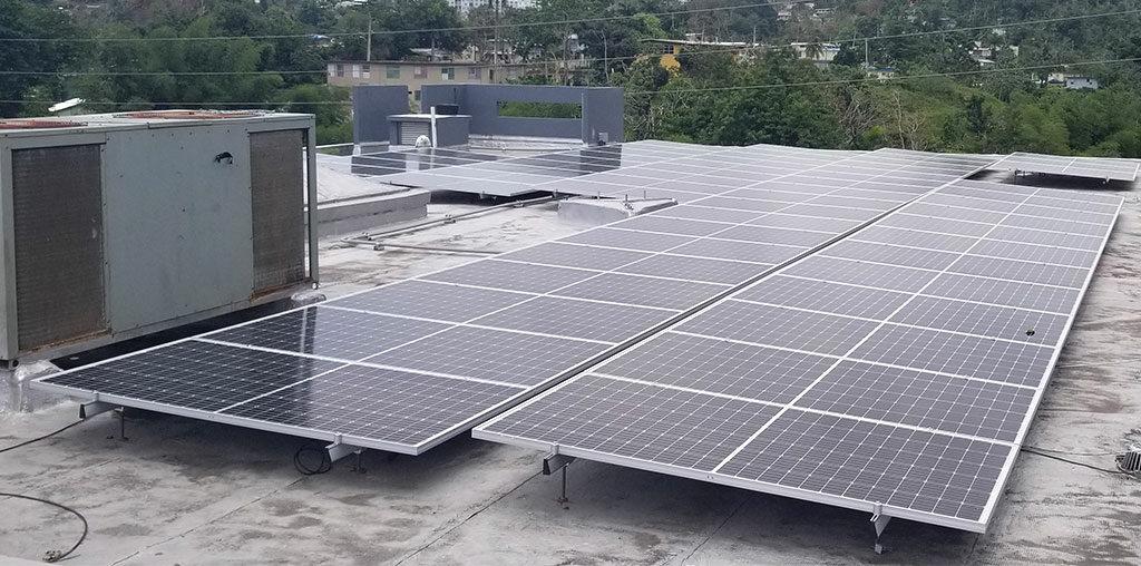 Energia de placas solares, paneles, solar roots, electrica