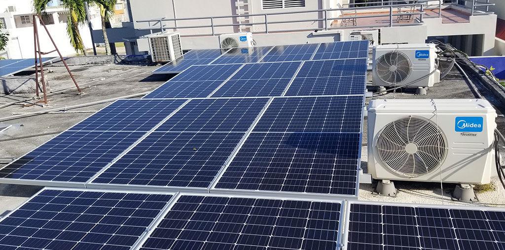 calcular el número de placas solares