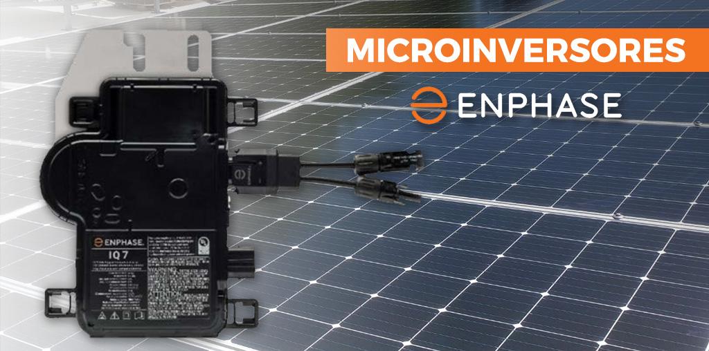 ¿Qué son los microinversores Enphase?