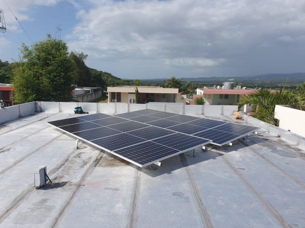 Instalación de Paneles Solares en Urb. Hacienda San Germán, San German, PR