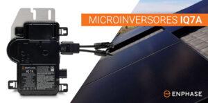 bifaciales, Microinversor IQ7A, Equipo solar, Sistema solar