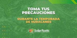 Preciones para Huracanes, Proteger Placas Solares