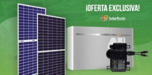 Oferta Exclusiva, Solar Roots, Precios, Venta, Sistema Fotovoltaico, Energia Solar